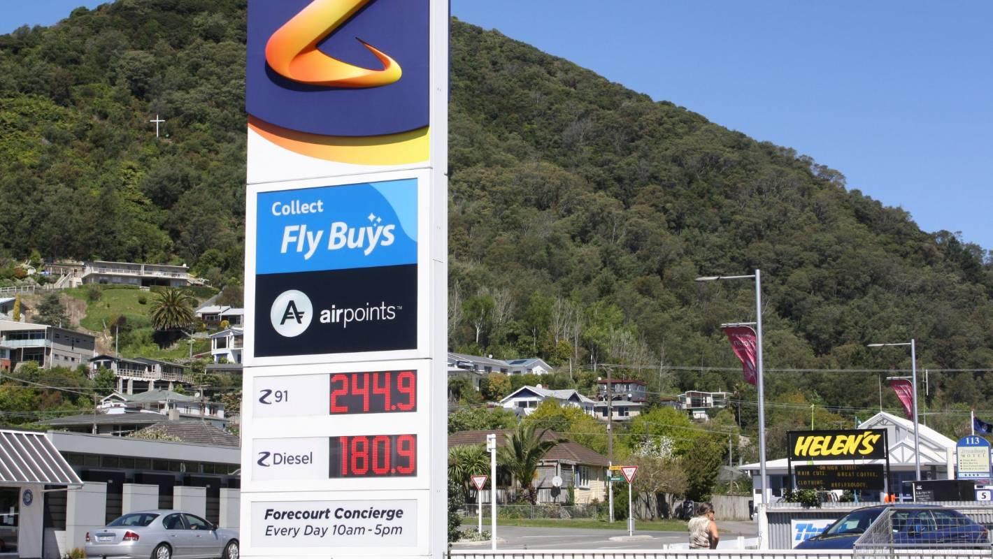 Z petrol station
