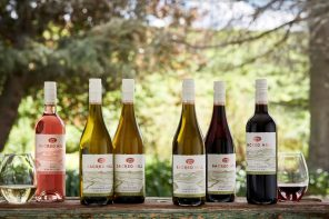 sacred hill wine's full range of new-look products