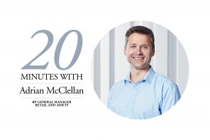 20 MINUTES WITH ADRIAN MCCELLAN