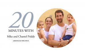 Mike and Chantel Priddy, Greenleaf Organics