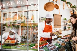 SAINSBURY'S OPENS MEAT FREE BUTCHERS