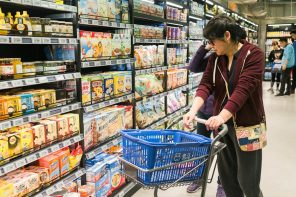 CHINA GROCERY MARKET GROWS