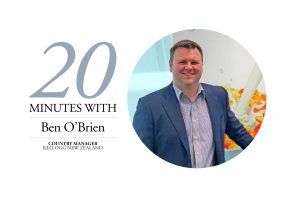 20 MINUTES WITH – BEN O'BRIEN, KELLOGG COMPANY