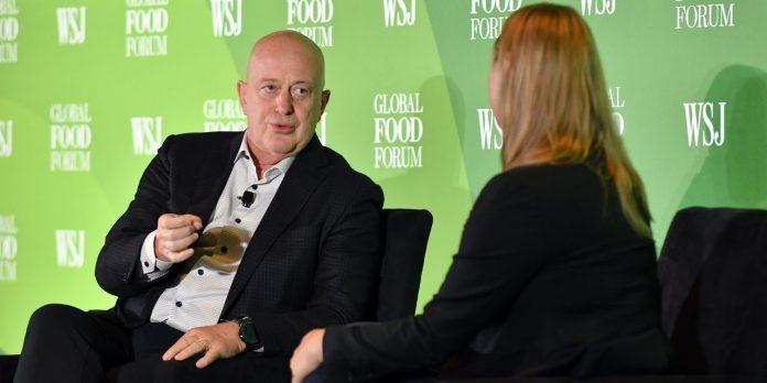 Mondelez CEO, Viktor van de Put