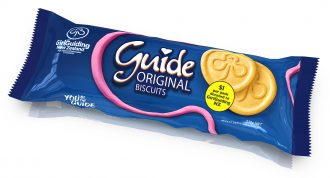 Close up of Guid biscuits packet