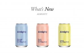 ALMIGHTY SET TO SHAKE UP DRINKS CATEGORY