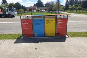 MORE COLOURED RECYCLING BINS TO THE REGIONS