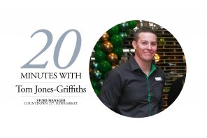 20 MINUTES WITH – TOM JONES-GRIFFITHS