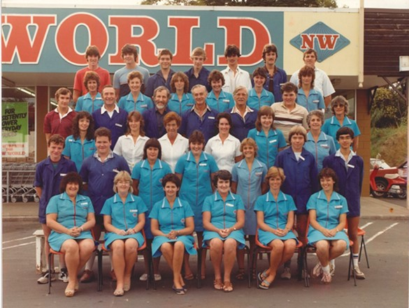 New World Warkworth Chris Quin Back Row 3rd from left