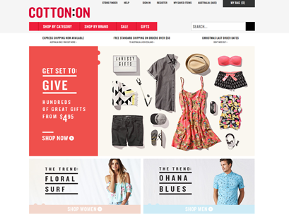 New Site for Cotton On