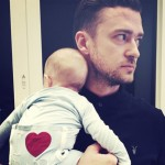 justin timberlake with son