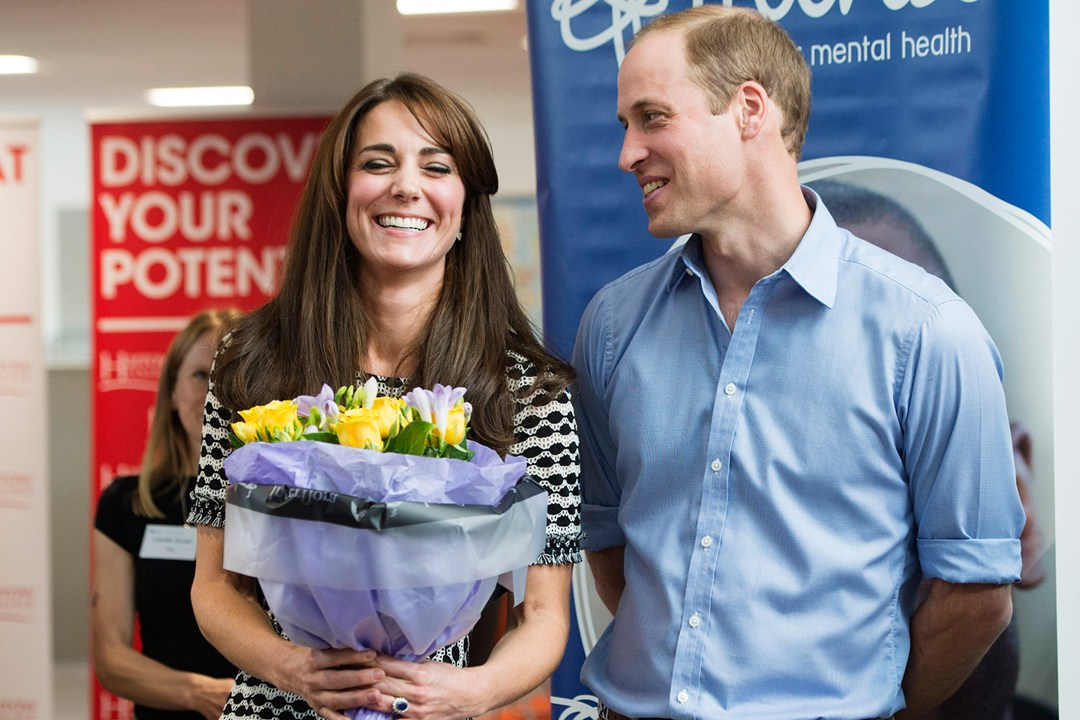 The Duke and Duchess of Cambridge attend an event at Harrow College, hosted by mental health charity Mind, to mark World Mental Health Day.