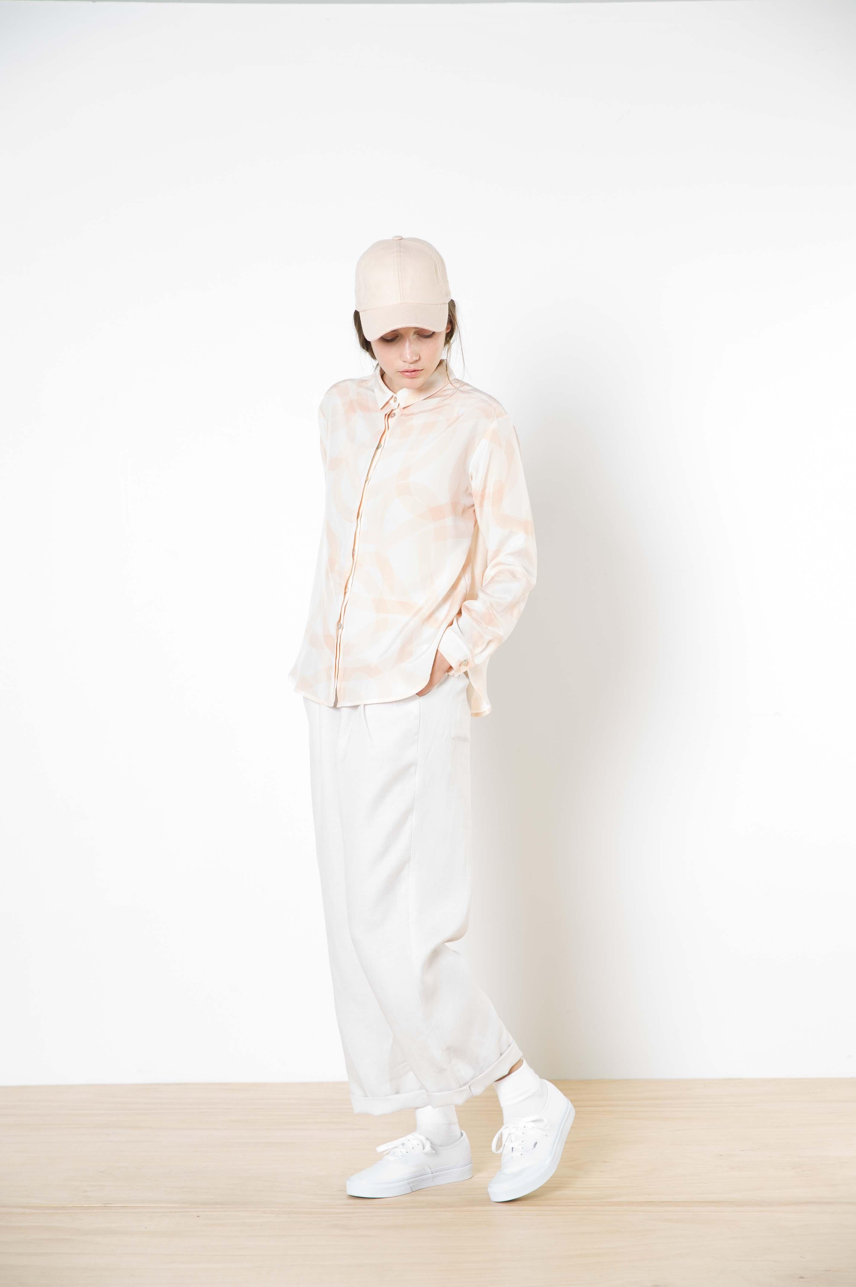 11 silvia silk shirt