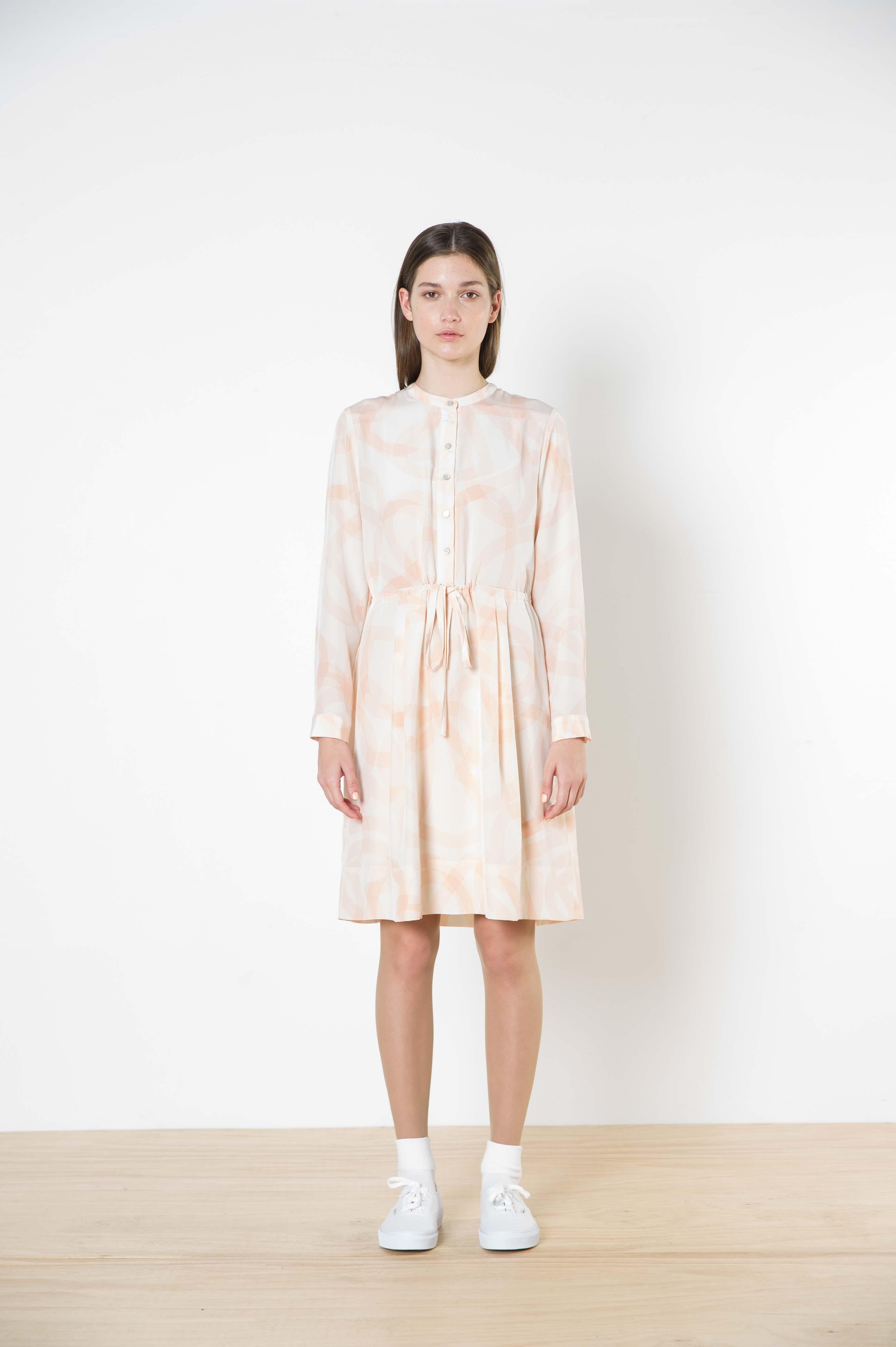 12 rita silk dress
