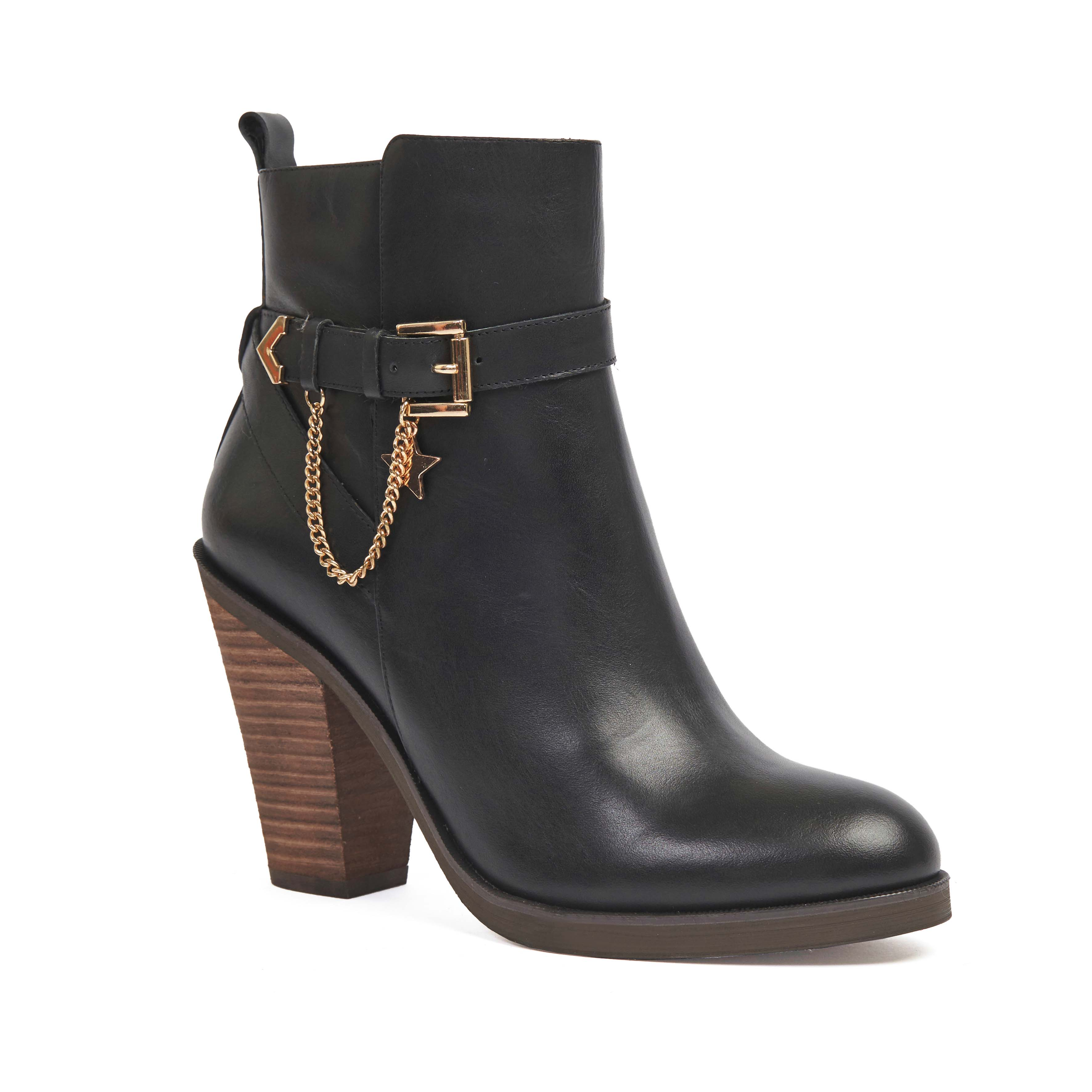 404 Norrie Boot Black Calf