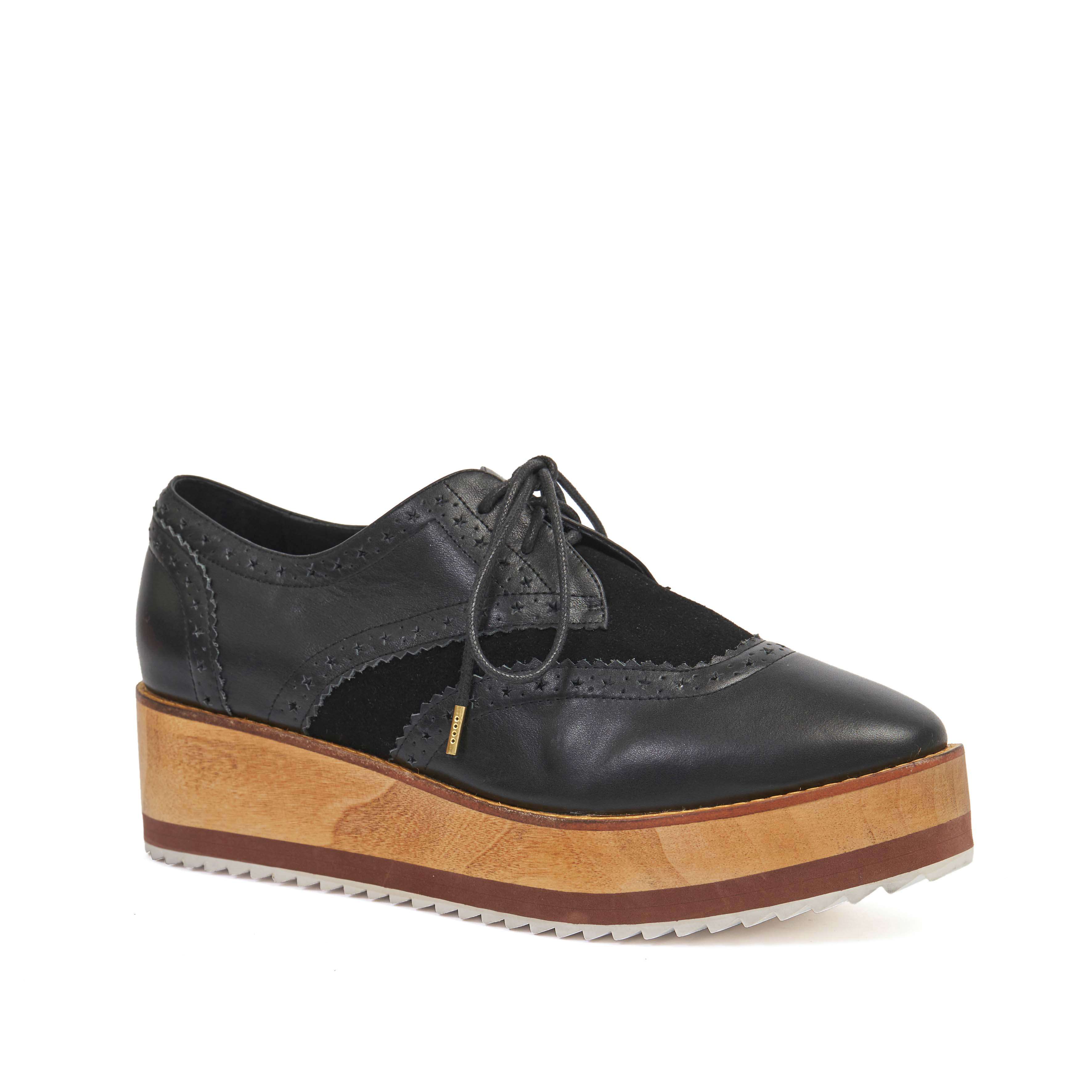 406.1 Mary-Kate Brogue Black