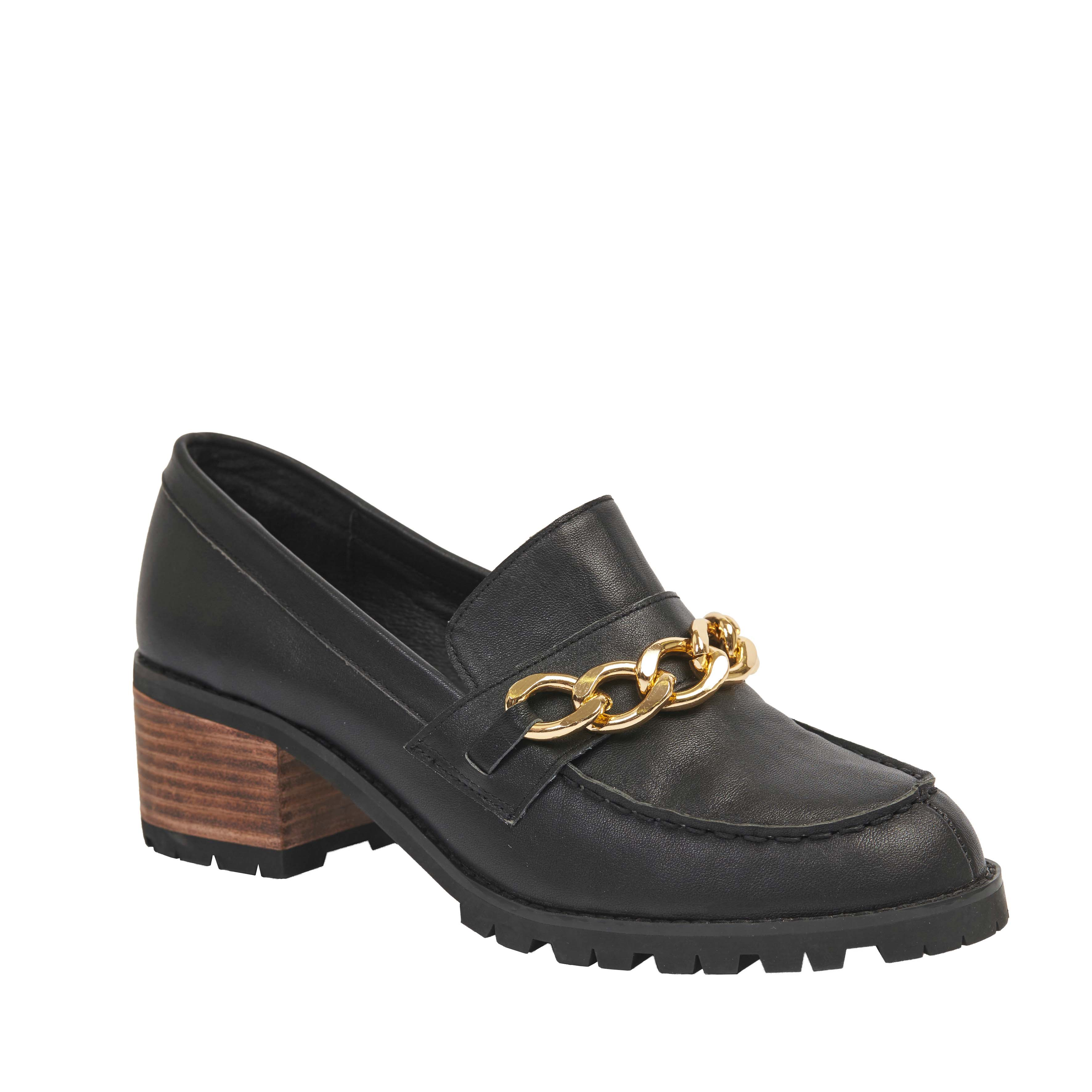 408 Sarah Loafer Black
