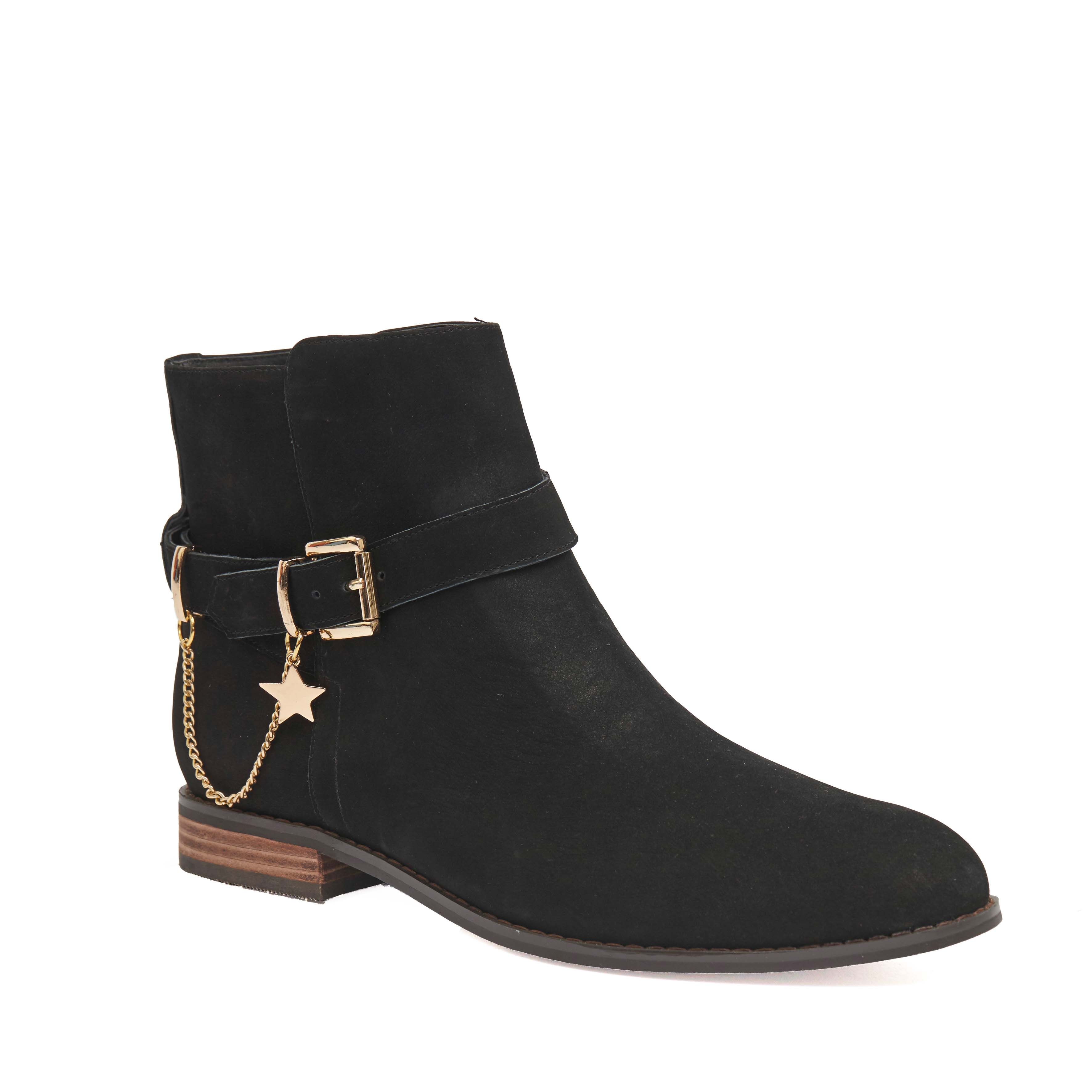 409 Flemming Boot Black Nubuck