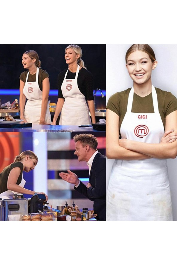 Gigi Hadid won the celebrity showdown episode of MasterChef.