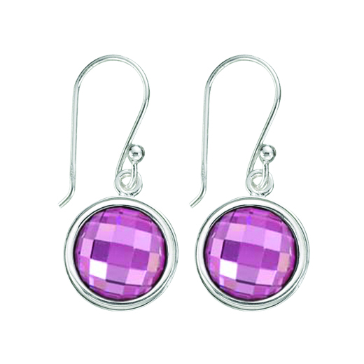 Kagi Gempops Classic Earrings $109 with Fabulous Fuschia Pops $45 each www.gempops.com