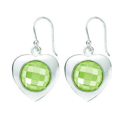 Kagi Gempops Sweetheart Earrings $119 with Lime & Soda Pops $45 each  www.gempops.com