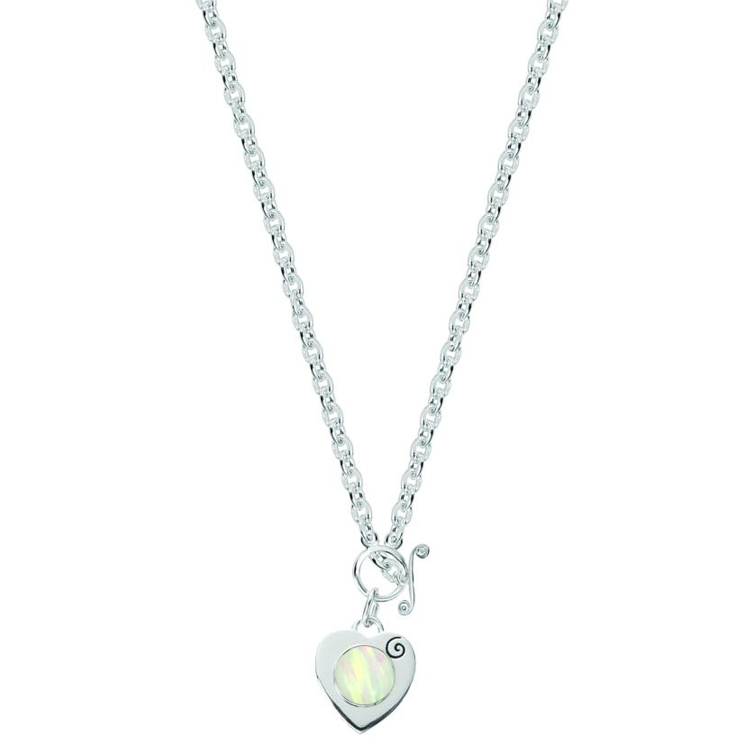 Kagi Gempops Sweetheart Necklace $289 with Mirage Magic Pop $55 www.gempops.com