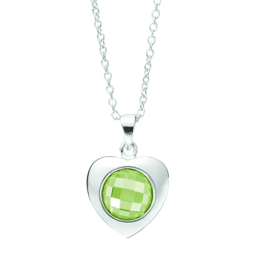 Kagi Gempops Sweetheart Pendant $79 with Lime & Soda Pop $45 www.gempops.com