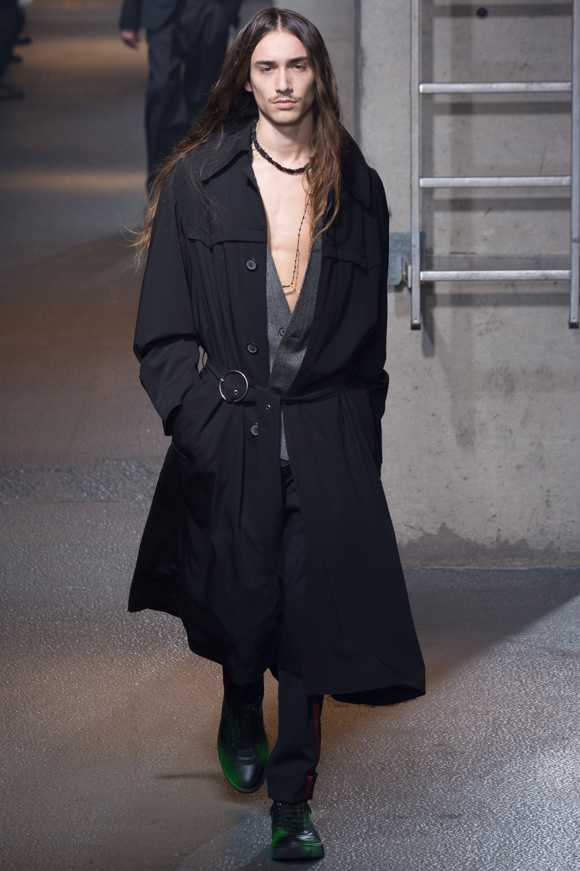 Lanvin wrapped up Paris Men's Fashion Week