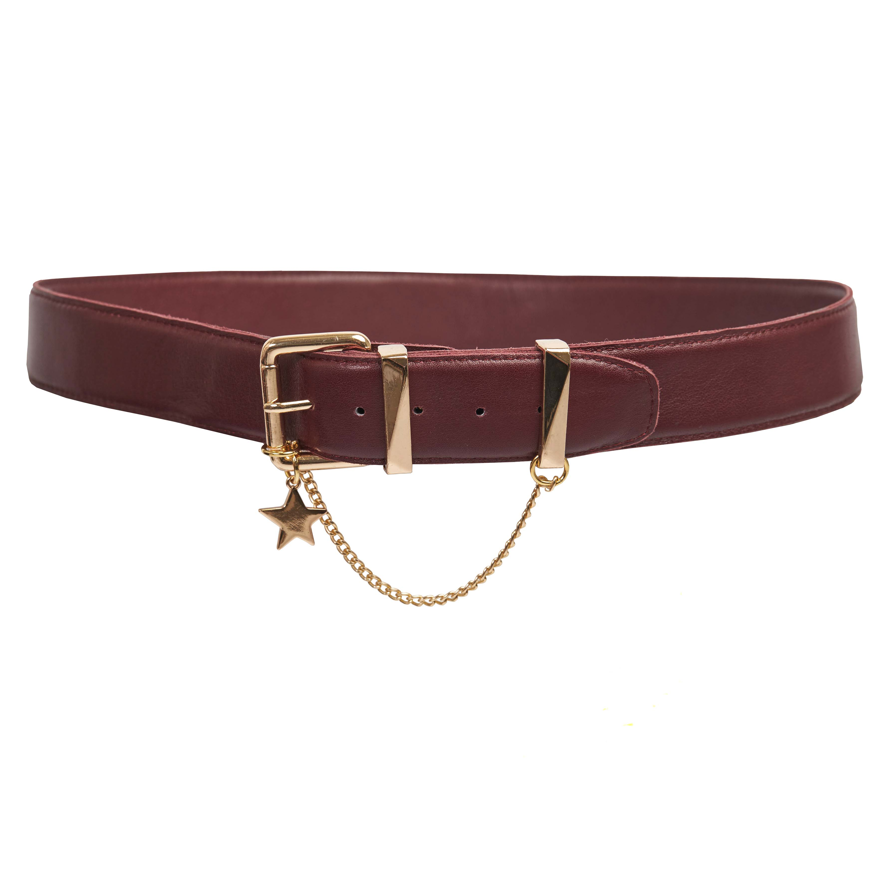 Miss Wilson Belt Raisin