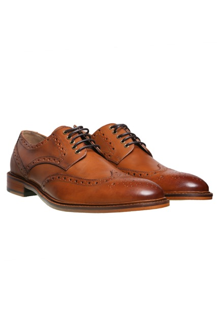 OXNAM LEATHER WINGTIP_TAN