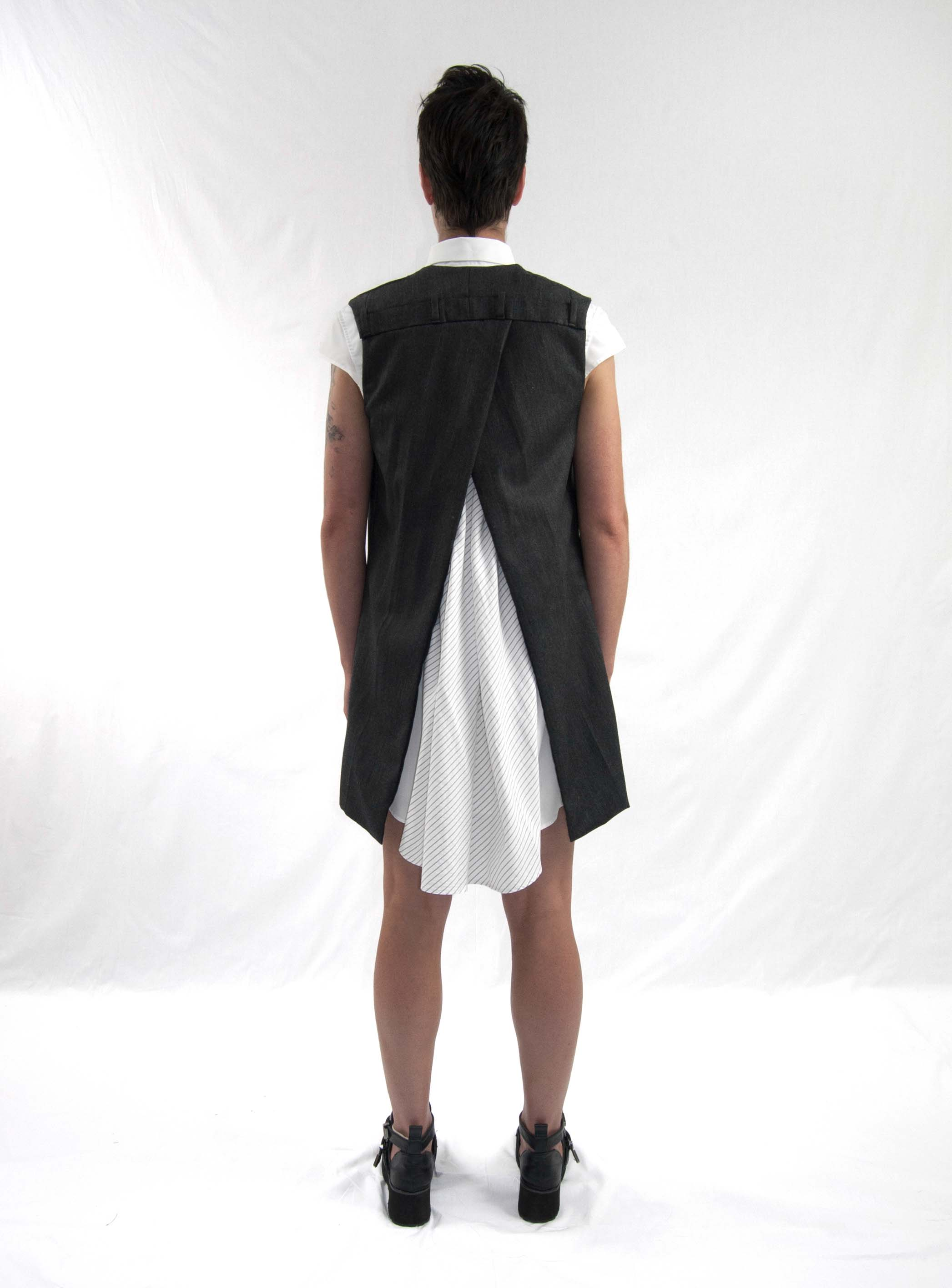 12division gilet, emergence dress bk