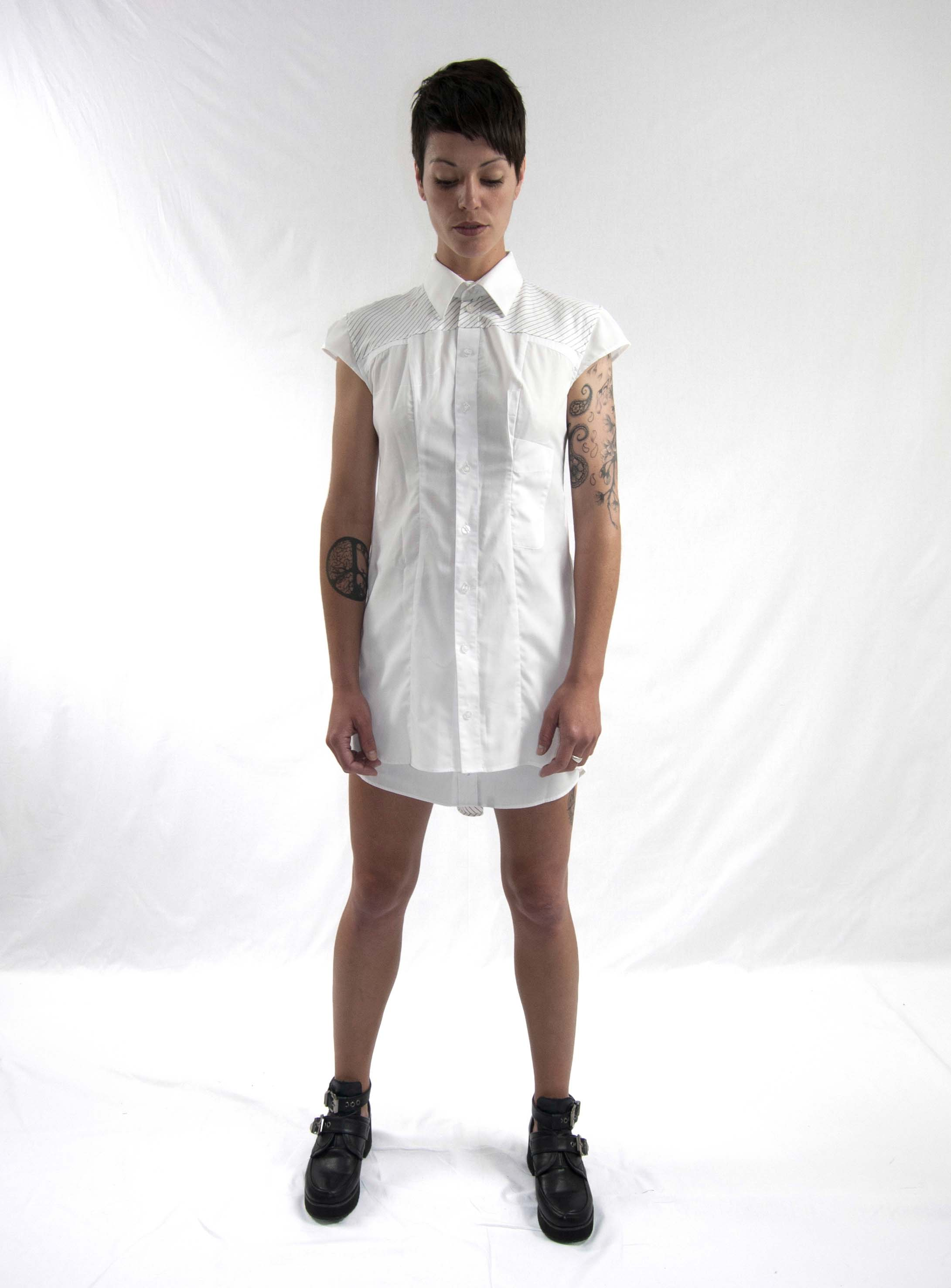 12emergence dress white
