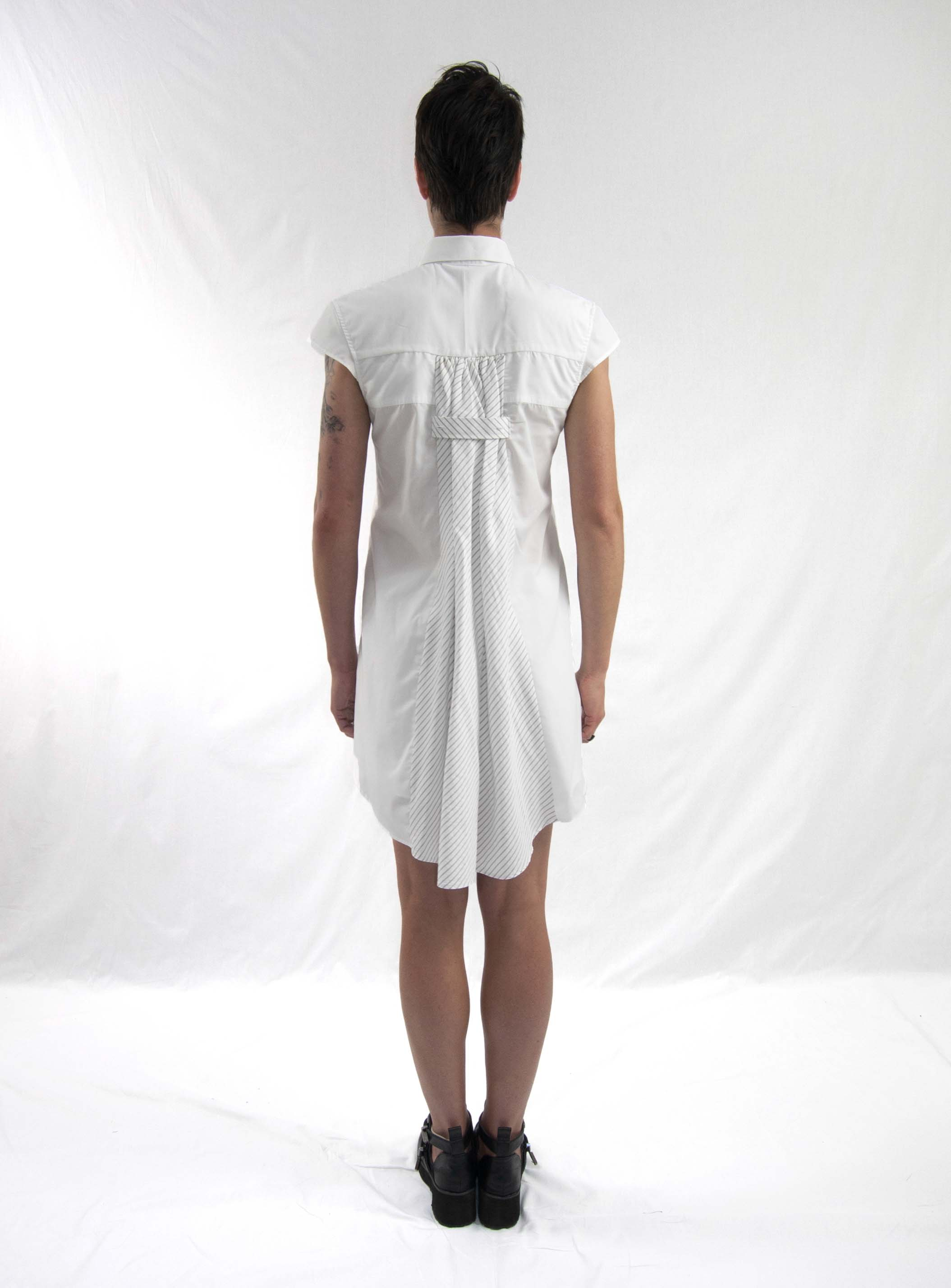 13emergence dress white bk