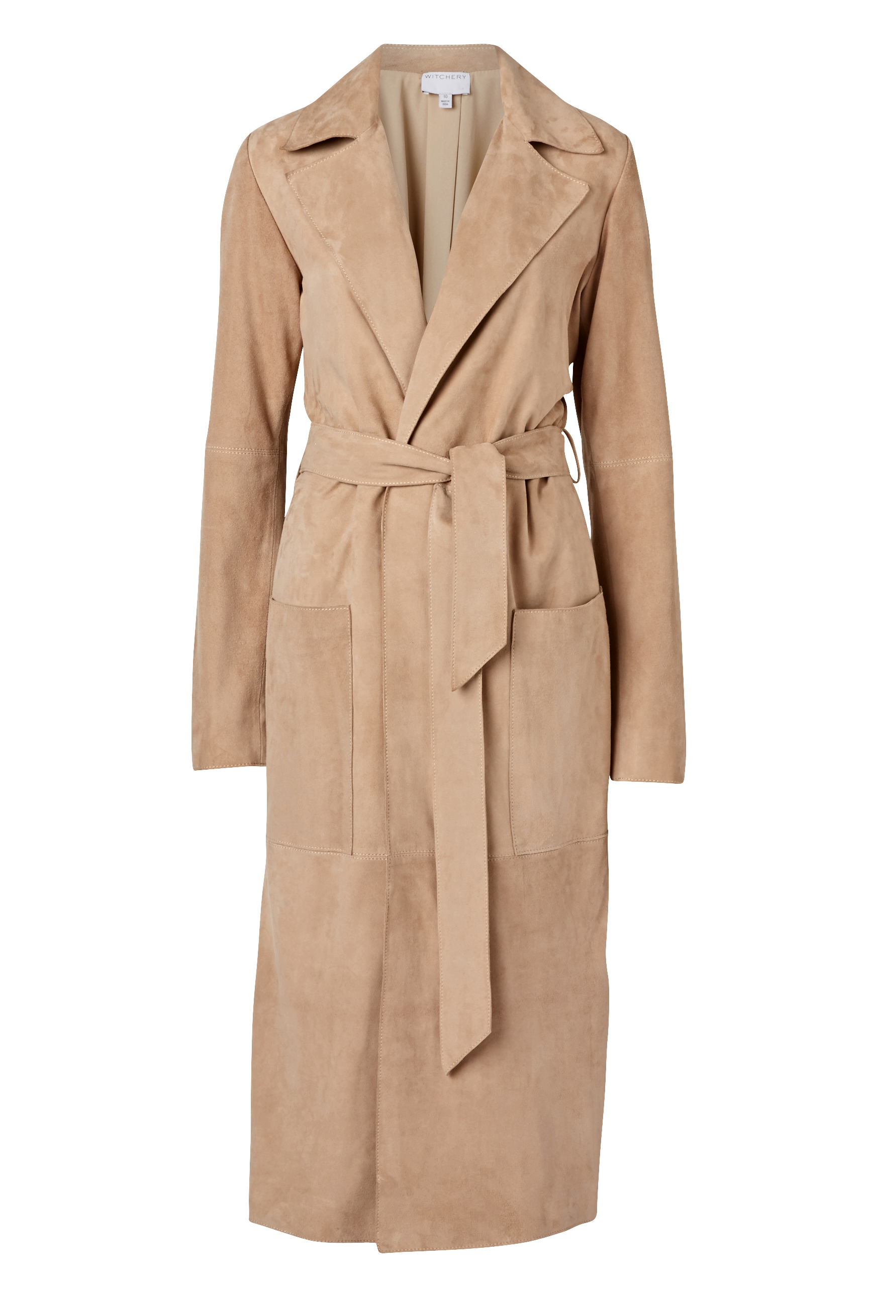 60190017_Witchery First Edition Makoro Suede Coat, RRP$799.90