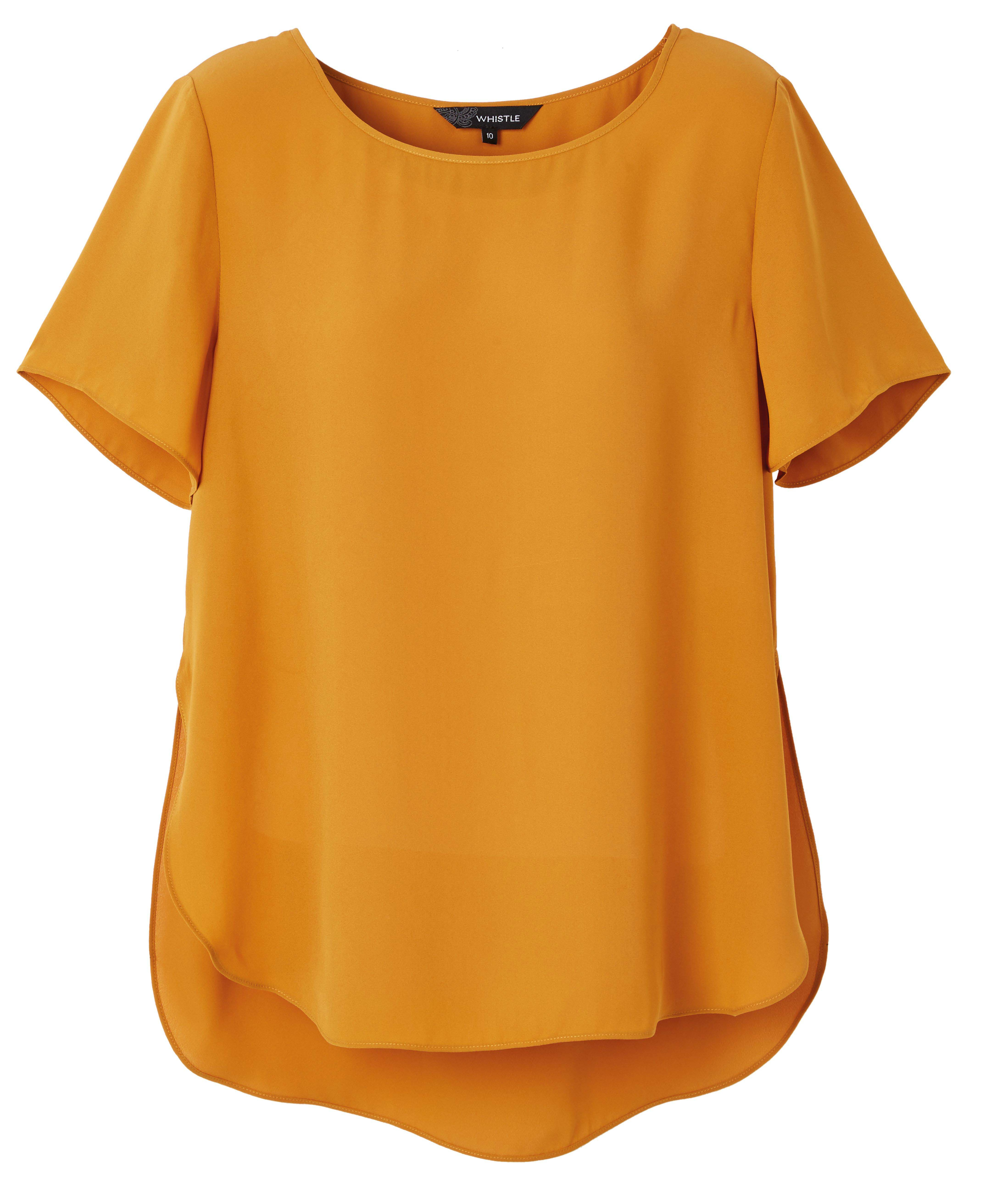6064556 Whistle The Boxy Top Mustard $49.99 Instore Jan 18.2016