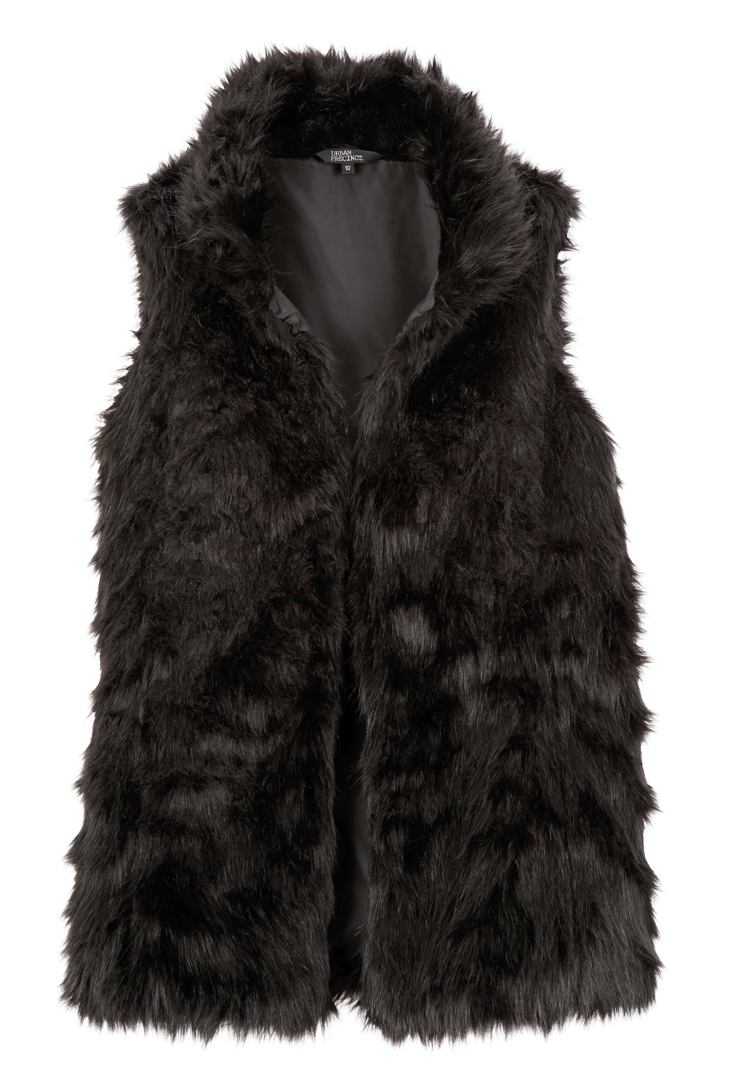6064578 Urban Precinct Fur Vest $109.99 Instore Mar 08 2016