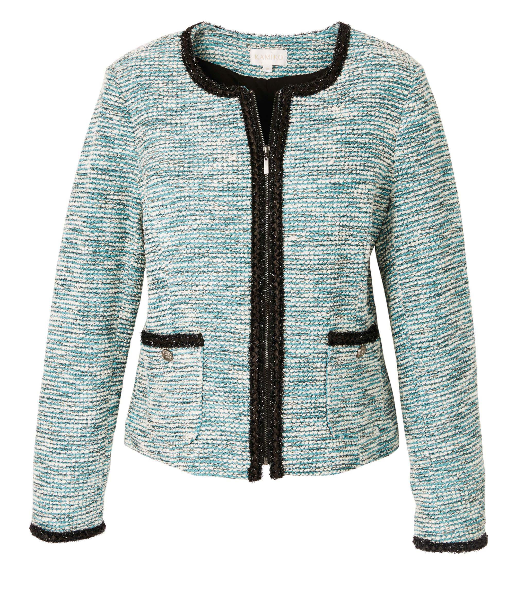 6092608 Kamiko Jadeboucle Jacket Emerald $159.99 Instore 3 March 2016