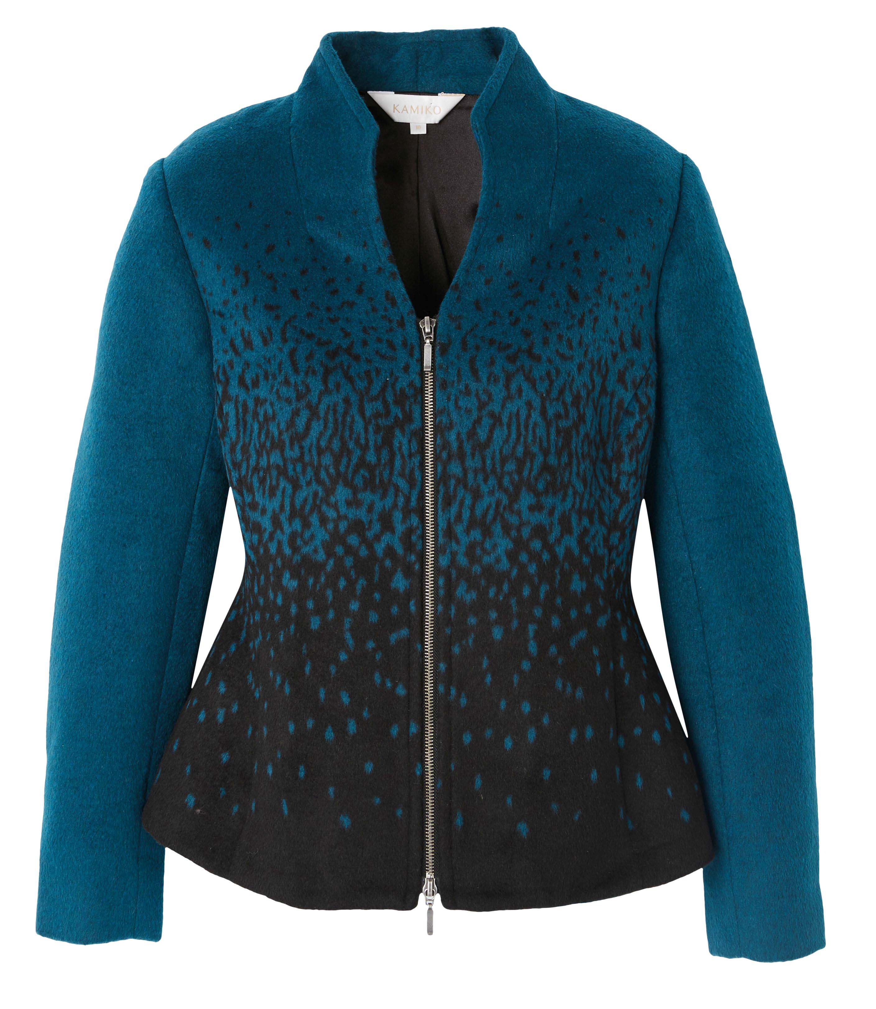 6092612 Kamiko Gradient Melton Jacket $189.99 Instore 1 Mar 2016