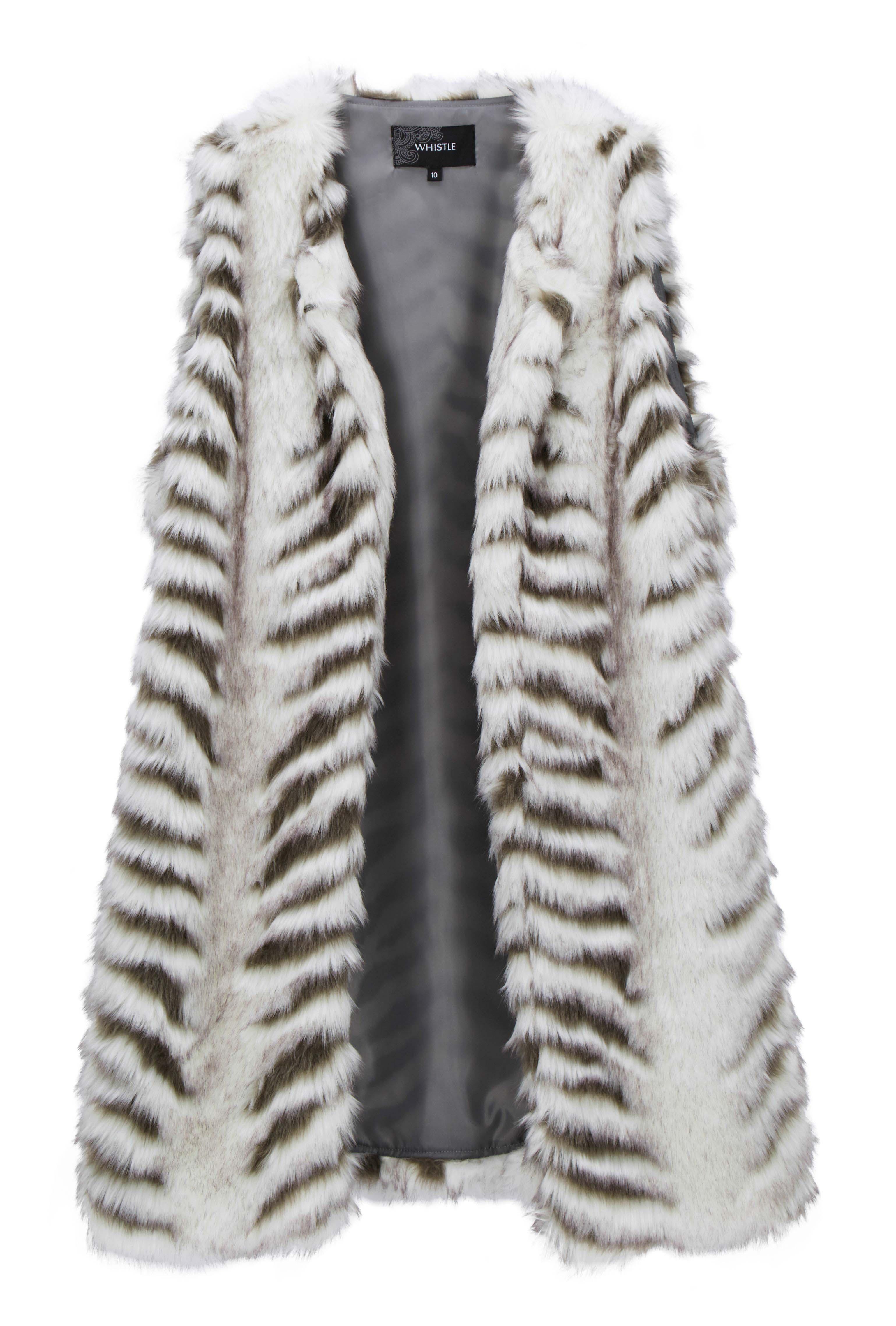 6095666 Whistle Fur Vest $119.99 Instore March 15 2016