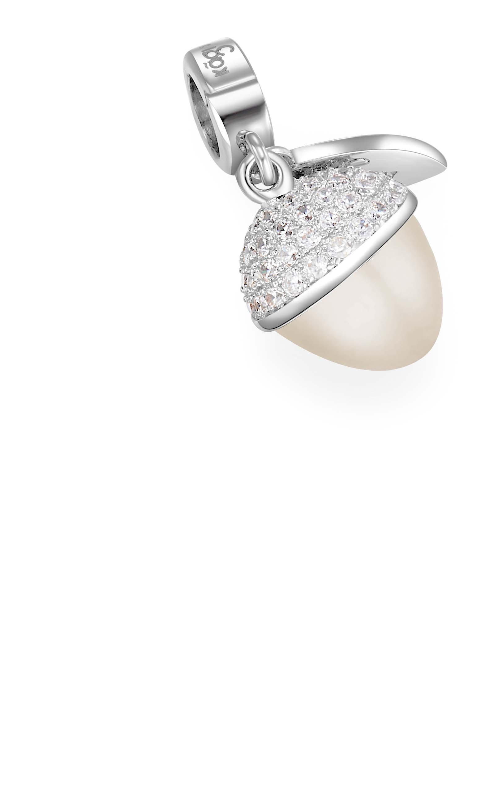 Acorn Pearl Charm