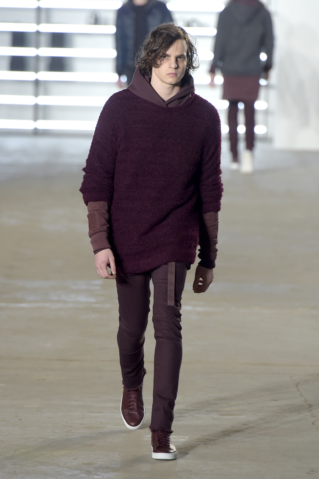 John Elliott Men's RTW Fall 2016 Photo by Giovanni Giannoni/WWD