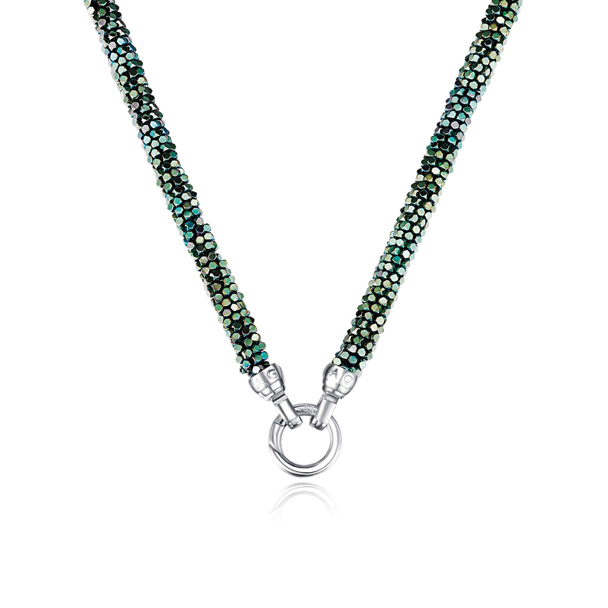 Kagi Blue Danube Weave 49cm  Necklace $249 www.kagi.net
