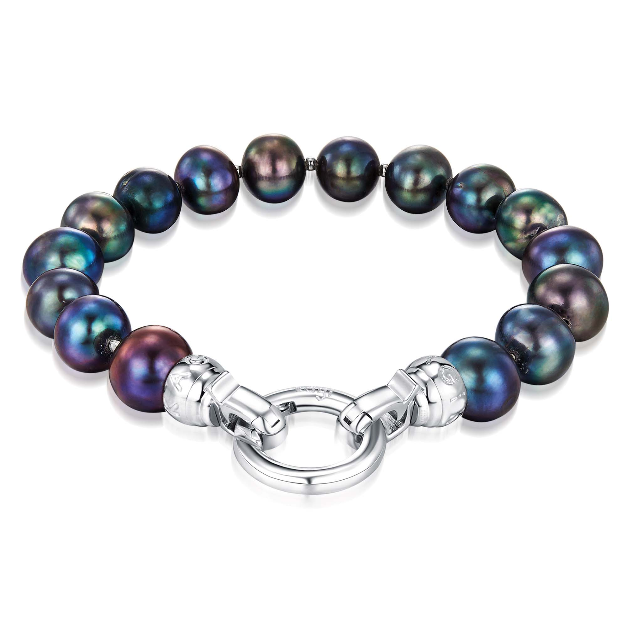 Kagi Peacock Pearl Bracelet $159 www.kagi.net