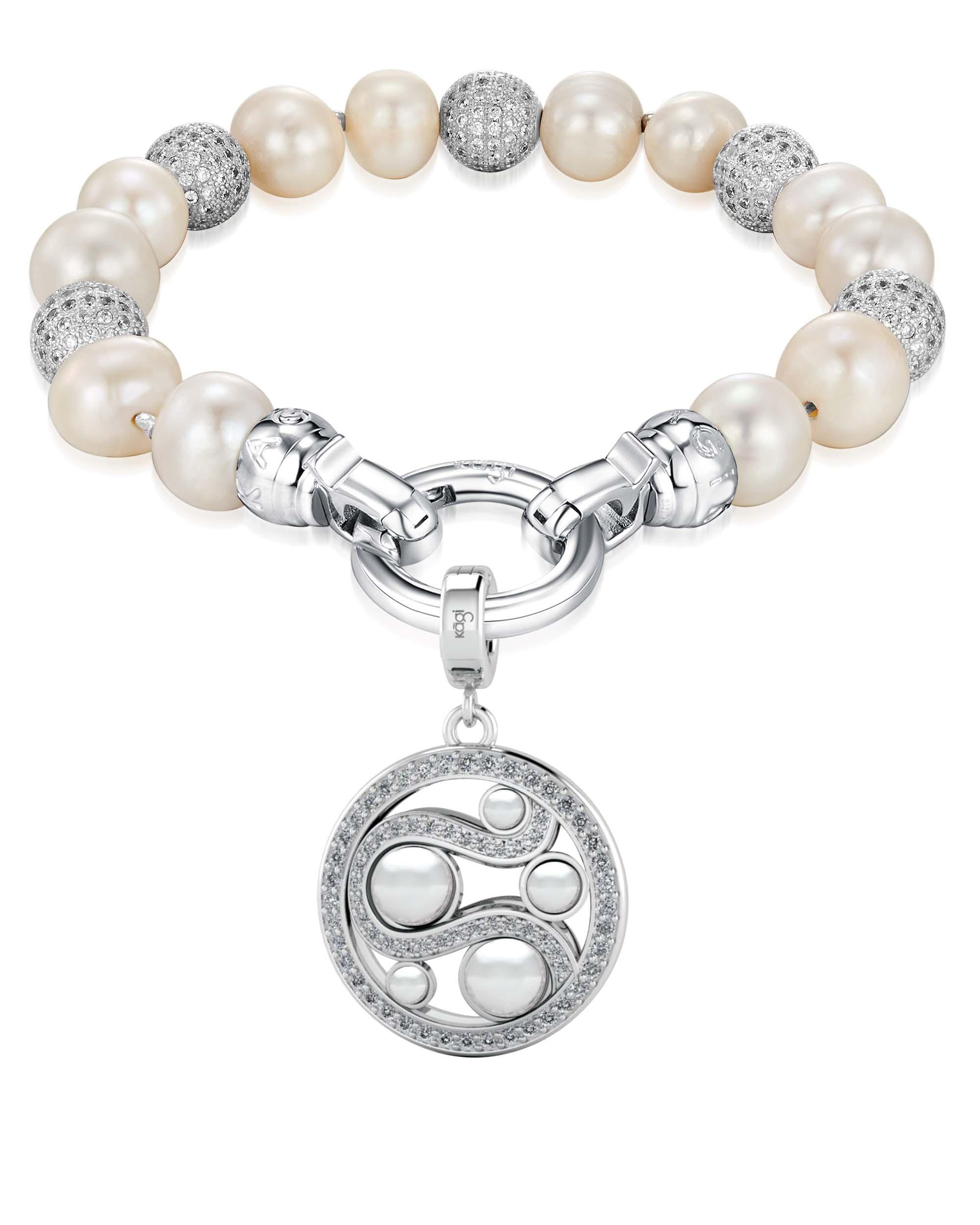 Kagi Pearl Luxe Bracelet $169 with Mystic Pearl Small Pendant $149 www.kagi.net