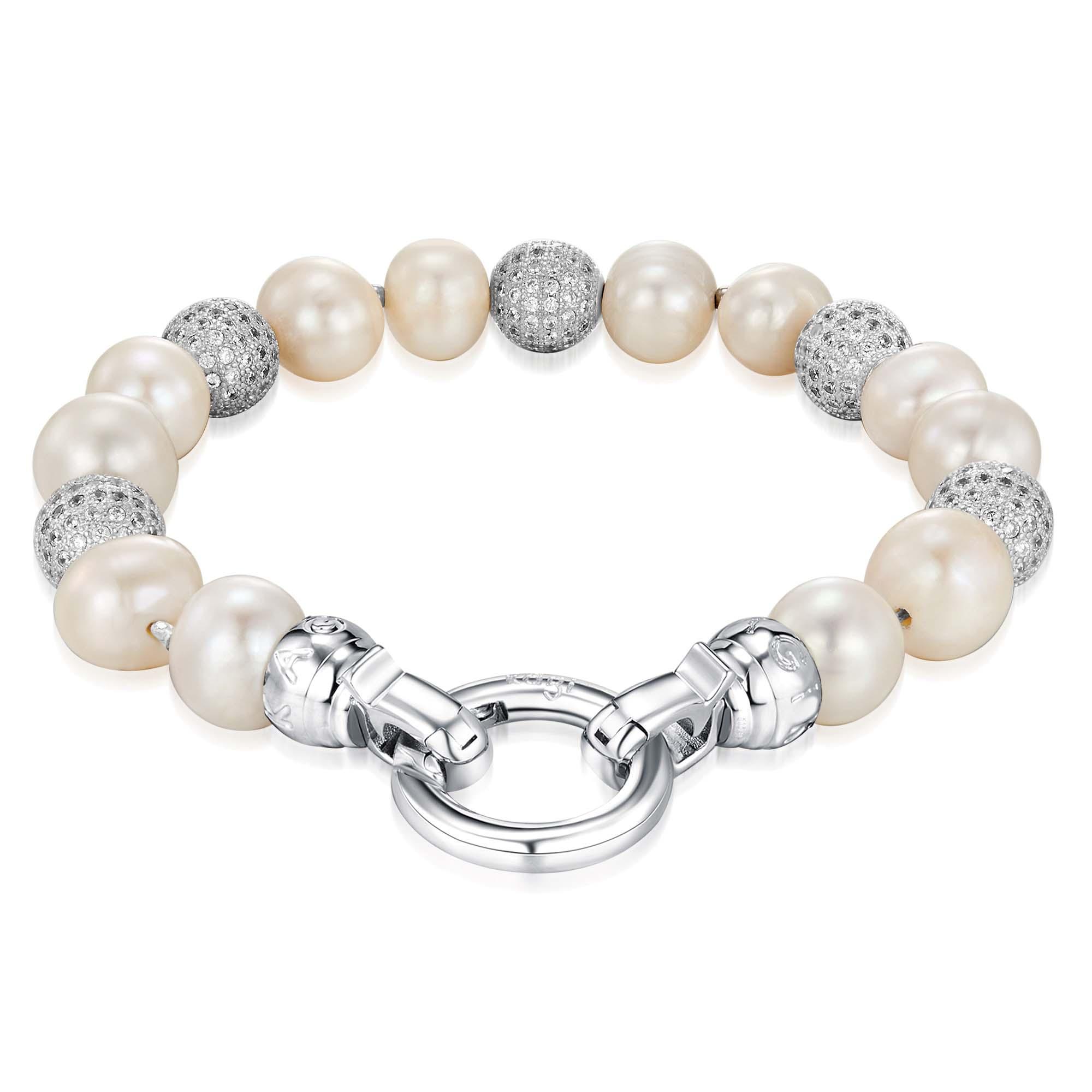 Kagi Pearl Luxe Bracelet $169 www.kagi.net