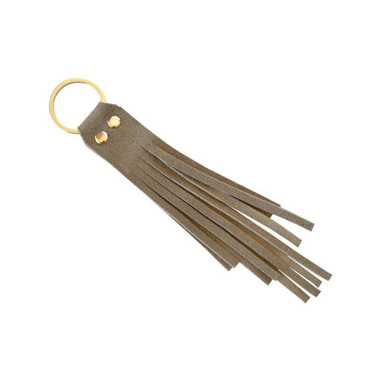 Key Ring Beige