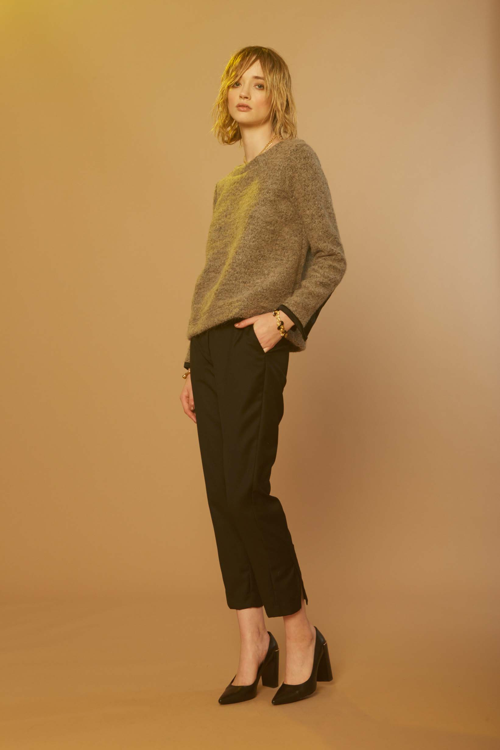 Liam Aleatory Sweater & Sonic Pant