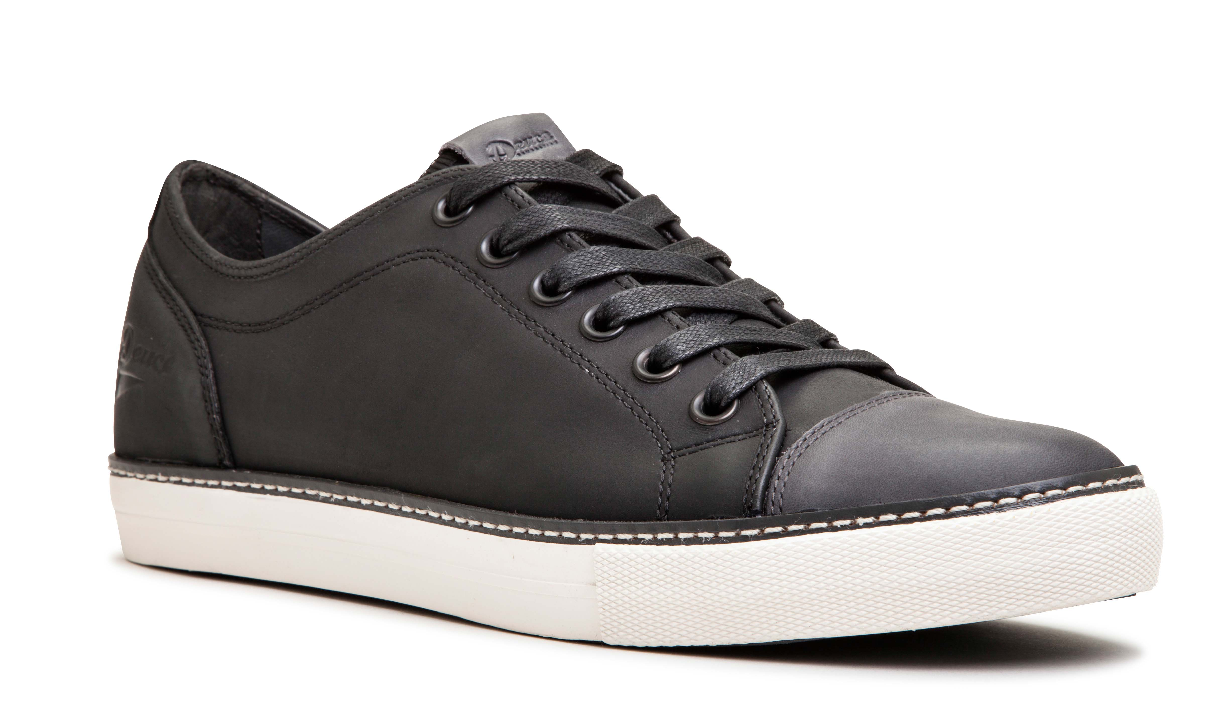 McQueen Leather M_BlackCharcoal 1