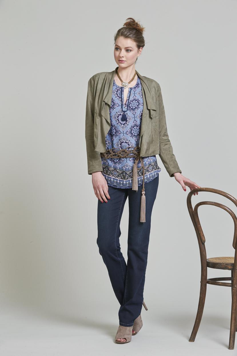 PAge 23 LS911 Babushka Jacket LS976 Bazaar Top LS987 Luxe Classic Jean