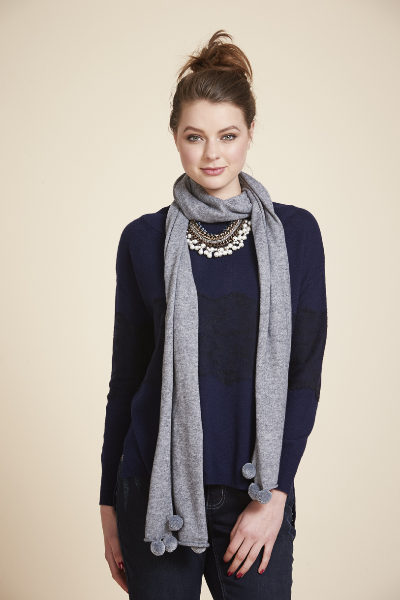 Page 37 LSK201 Charleston Sweater LSK203 St Louis Scarf